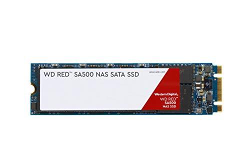 Western Digital 1TB WD Red SA500 NAS 3D NAND Internal SSD - SATA III 6 Gb/s, M.2 2280, Up to 560 MB/s - WDS100T1R0B