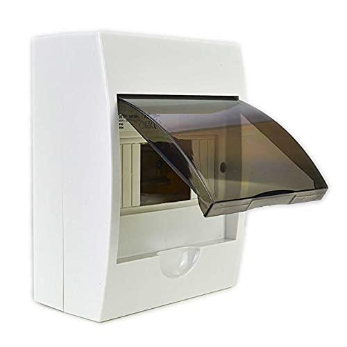 Sicherungskasten Kleinverteiler IP40 aufputz Unterverteilung 1-reihig 6 Module