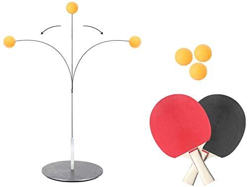 TUSNAKE Table Tennis Trainer Equipo,Vision Training Altura Ajustable Descompresión para Principiantes y...