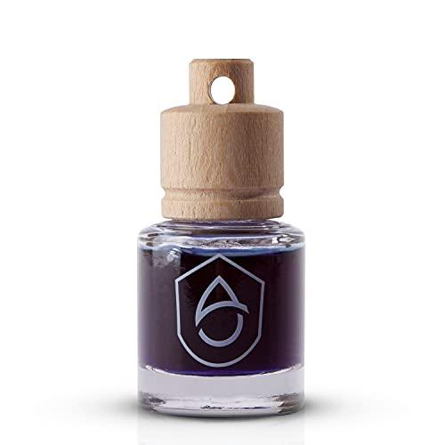Armandus Black Profumo per auto - Deodorante per auto di lusso - Deodorante con olio naturale Eucalipto, Arancia dolce, Tuia - Profumo appeso per casa
