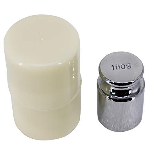 HFS(R) 分銅 100g 単体 0.1kg はかり 秤用 測定器 おもり 天秤 てんびん 校正分銅 高精度 力学実験 化学 物理学 クロムメッキ 校正グラムスケール M1