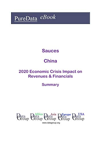 Sauces China Summary: 2020 Economic Crisis Impact on Revenues & Financials (English Edition)