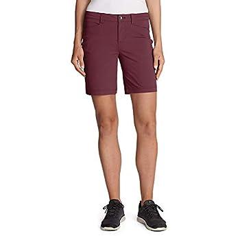 Eddie Bauer Women s Horizon Shorts Dusty Red Regular 4