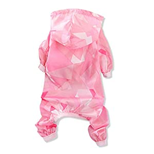 SOOKi Animaux Chien Chemises Combinaison Summer Sun Protection Vêtements Léger Pet Climatisation Vêtements Chien Écran Solaire T-Shirt Manteau Costume Veste