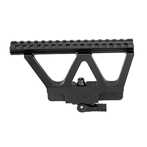 YUSHAOLI YSLI Tactical AK47 Detach QD QD AK AK Rail Lado Soporte Montaje AK 47 AK 74 Rail Rail Montaje de Rifle de Montaje Accesorios (Color : Black)