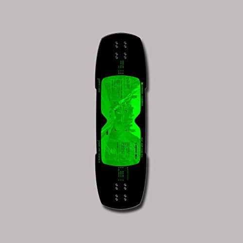 Hydroponic Longboard Skate Skateboard Deck Night Vision 34x9.85