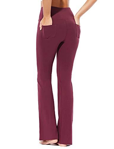 BALEAF EVO – Pantalones de yoga para mujer, algodón, con bolsillos