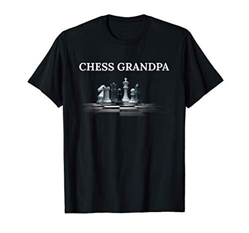Chess Grandpa Shirt Chess Dad Gifts Men Kids Boys Father Tee Tシャツ