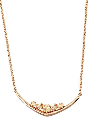 Joop! Damen-Collier Edelstahl Zirkonia rosa Rundschliff 40 cm - JPNL00004C420
