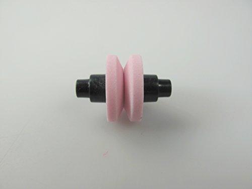 TUPPERWARE Messer Schleifstein pink Ersatzschleifstein Grob für Messer-Maus D109