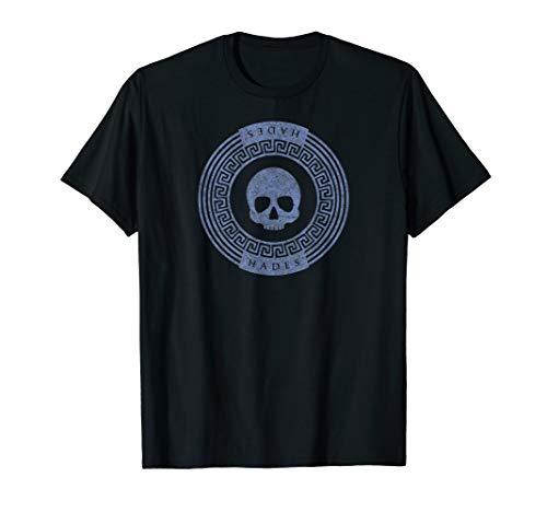 Greek God Hades Skull Symbol Crest Mythology Nerd T-Shirt