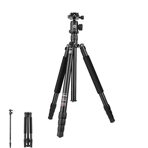 SHDG SLR-Kamera Stativ-Fotografie tragbaren Ständer abnehmbare Einbeinstativ-Stativ lassen gute Erinnerungen für Ihre Reise