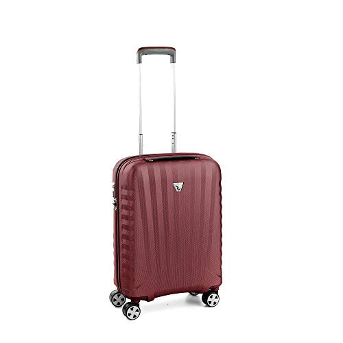 Roncato Carry-On Spinner (Xs) Hartschalen UNO Zsl Premium 2.0 - Handgepäck cm 55 x 40 x 20 Fassungsvermögen 38 L Leicht Organisierter Innenraum TSA-Schloss Von Ryanair Easyjet Lufthansa zugelassen