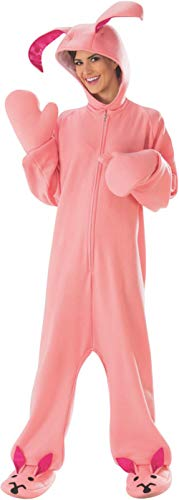 Cute One Piece Adult Pinky Bunny Jumper Costume