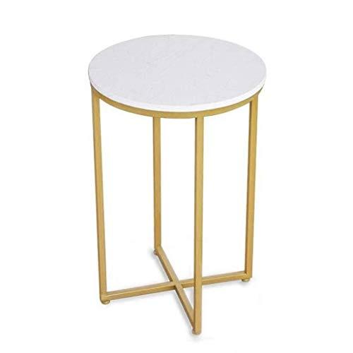 Gehumaniseerd ontwerp Home Phone Table, Metal Waterproof gemakkelijk schoon te maken Koffietafel Slaapkamer van meisjes Kleine Appartement Kamers Side Table Glad aanrecht
