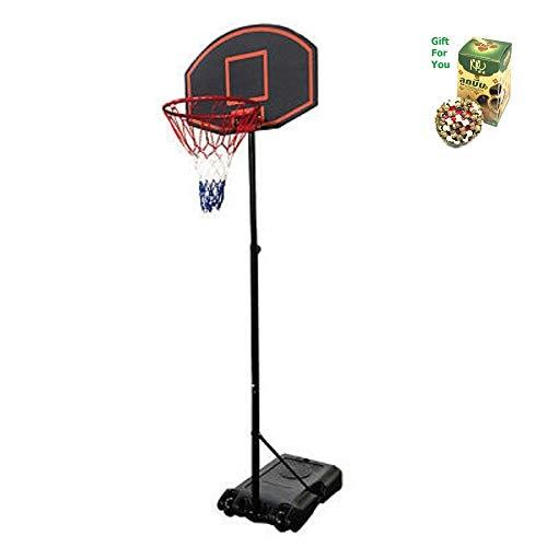 Best Review Of SpiritOne Basketball Hoop Adjustable Backboard Rim Portable Indoor Outdoor Fitness Mi...