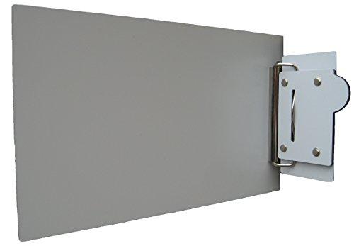 Laser Griff MATE Gekko Selbstklebende-Spann Zielscheibe Teller Corner für Laser Entfernungsmessgerät 30 cm x 15 cm selbstklebend-Spann Zielscheibe Teller Corner für Laser Entfernungsmesser Messgerät für lange oder kurze Distance Measuring.