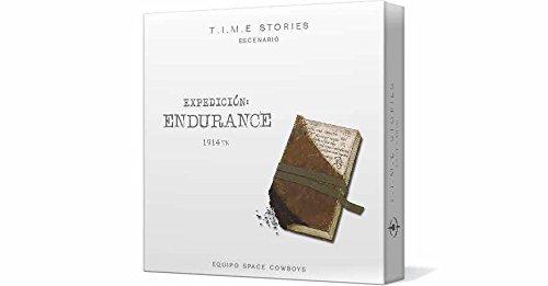 Space Cowboys- T.I.M.E. Stories - Expedición Endurance - Español, Color (Asmodee ADESCTS05ES)
