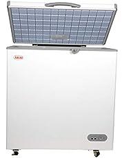 Akai 250 Liters Chest Freezer, White - CFMA-255CE-AR6