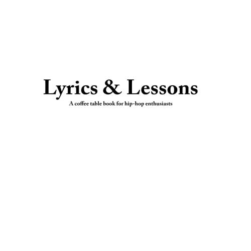 Hip Hop Lyrics: Amazon com