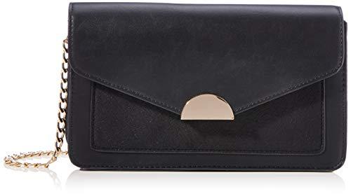 VERO MODA Damen VMCARA Cross Over Bag Handtasche, Black, ONE Size