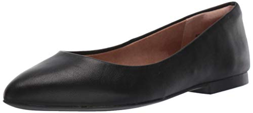 Amazon Essentials Women's May Loafer Flat, Black, 9 B US
