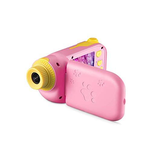 SYXX Cámara niños, cámara de recargable niños de vídeo digital a prueba de golpes, Niños videocámara de la cámara digital, videocámara, niño y niña de la cámara digital, bebé educativo del regalo de c