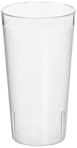 Winco - Vasos de guijarros, 16 onzas, transparente