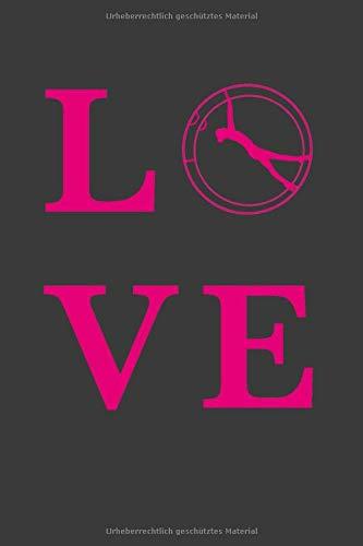 RHÖNRAD LOVE: A5 Dodgrid (gepunktet) | Agenda Journal | Perfekt zum Schreiben und Zeichnen | Rhönrad turnen