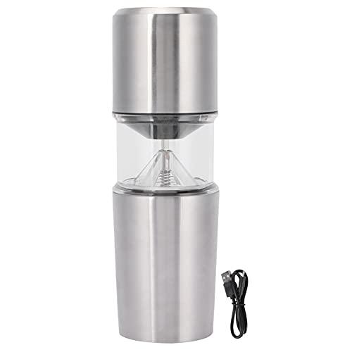 Automatyczny młynek do kawy Mielenie i zaparzanie Zintegrowany ekspres do kawy Akumulator USB