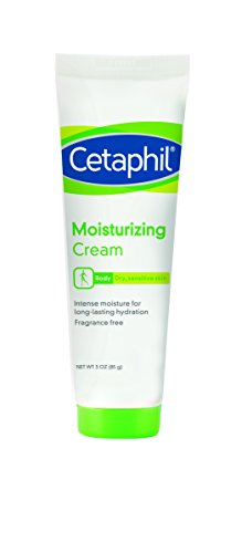 Cetaphil Moisturizing Cream, Fragrance Free, 3 Ounce (Pack of 3) by Cetaphil