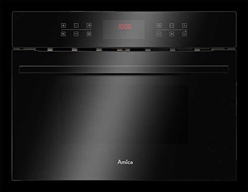 Amica EBC 841 S kompakt ovn med mikrobølgeovnfunksjon - svart