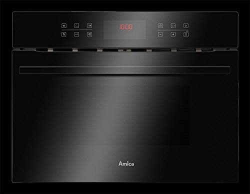 Amica EBC 841 600 S Kompakt-Backofen mit Mikrowellenfunktion - Schwarz