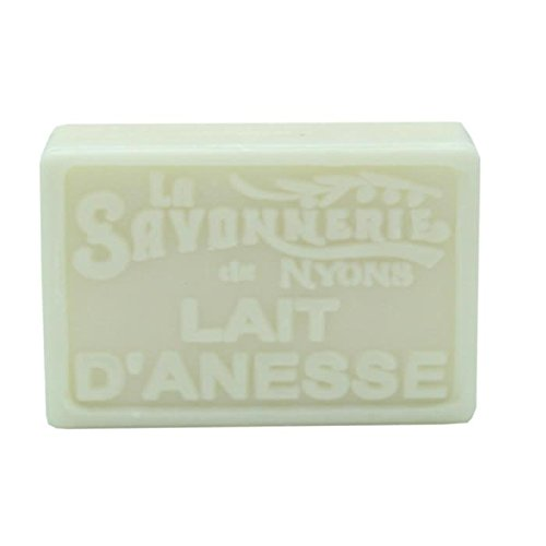La Savonnerie de Nyons Jabón rectangular de leche de burro orgánico, 100 gramos, multicolor, talla única