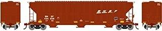 Athearn HO RTR FMC 4700 Covered Hopper BNSF #436608