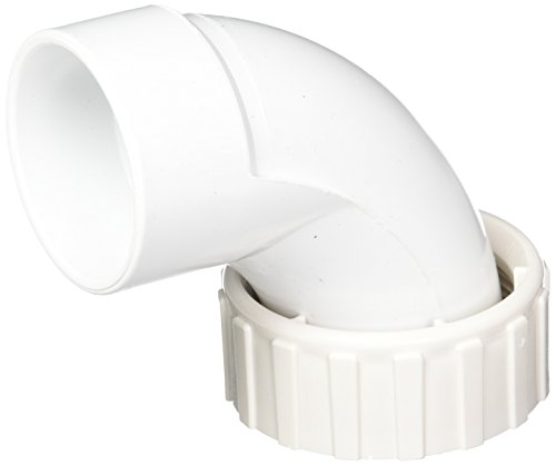 Waterway Plastics 806105082107 2' s x 2' fbt 90-Degree Sweep Pump Union