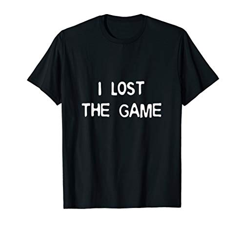 I Lost The Game