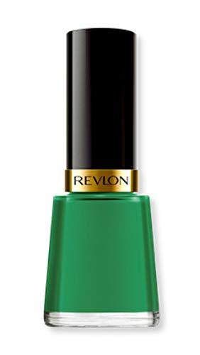 Revlon Nail Enamel, Chip Resistant Nail Polish, Glossy Shine Finish, in Blue/Green, 571 Posh, 0.5 oz