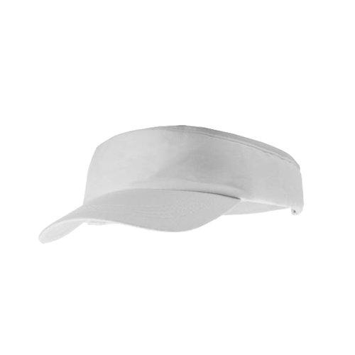 eBuyGB Unisex 1259106Sun Summer Sports Schatten Gap, weiß, One Size
