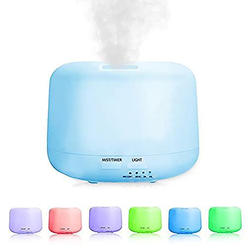 AMBIOPH - Difusor de ambiente, aceites esenciales por ultrasonidos, vaporizador, esencias y aromas.