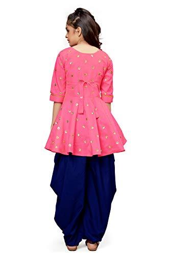 Fashion Dream Girl's Kurti with Dhoti Pant