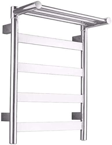 Toallero Eléctrico Bajo Consumo Calentadores de toallas eléctricas, sobrecarga impermeable de pared Error de potencia automática Protección de la protección de alta temperatura No se oxida a la cocina