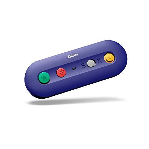 8Bitdo G Bros. Wireless Adapter for Nintendo Switch (Works with Wired GameCube & Classic Edition Controllers) (Nintendo Switch//) [Importación inglesa]