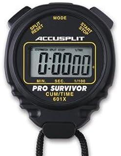 ACCUSPLIT Pro Survivor – A601X Stopwatch, Clock, Extra Large Display