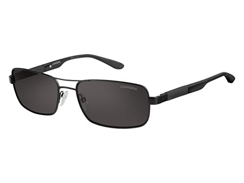 Carrera 8018/S M9 Gafas de sol, Mtblk Black, 57 Unisex-Adulto