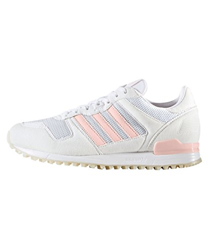 adidas Women Zx 700 Trainers Running Shoe - White/Icey Pink, Size 5