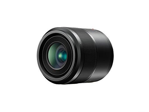 Panasonic H-HS030E LUMIX G Makro 30 mm F2.8 ASPH.Objektiv (O.I.S. Bildstabilisator, Bildwinkel 40°, Filtergröße 46 mm) schwarz