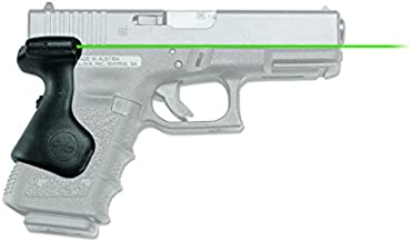 Crimson Trace LG-639G Lasergrips with Green Laser, Heavy Duty Construction and Instinctive Activation for GLOCK Compact Pistols, Defensive Shooting and Competition