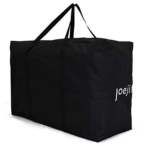 Borsa portaoggetti di capacità XXL 185 litri, borsa portaoggetti per carichi pesanti con maniglie, borsa portaoggetti sotto il letto - sacca per albero di natale coperte, piumini, abiti, accessori