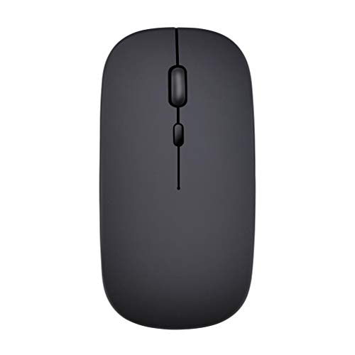 Dual Mode Wireless Bluetooth5.0 Mouse + 2.4Ghz Mode for PC Laptop - Black